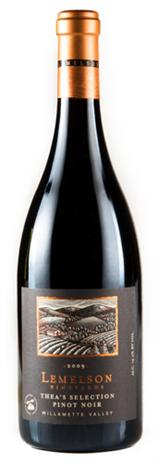 Lemelson Vineyards Pinot Noir Theas Selection
